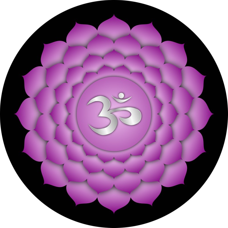 Third Eye or Crown Chakra